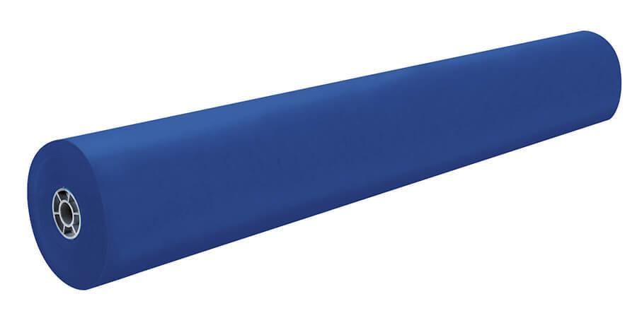 "Paper, Kraft, Dark Blue, 36""x1,000' rolls (w/two surfaces)"