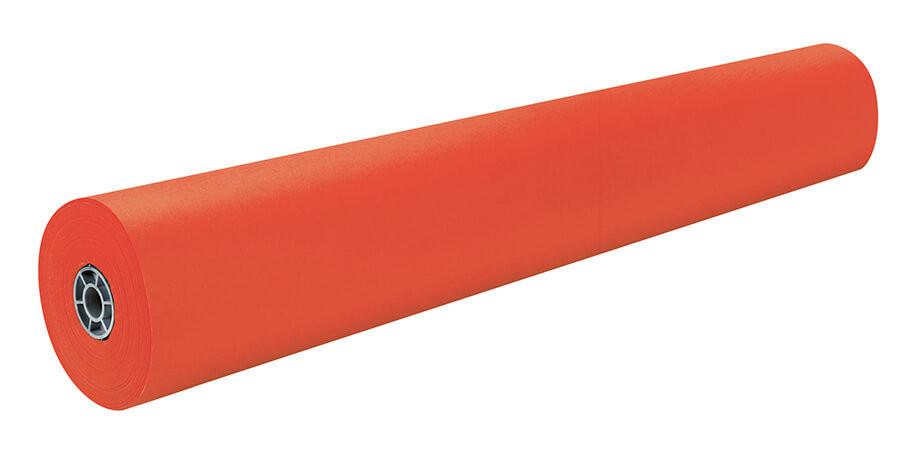 "Paper, Kraft, Orange, 36""x1,000' rolls (w/two surfaces)"