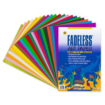 Paper, Fadeless, 12