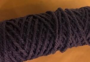 Yarn, Rug, Royal Blue, 4 ply, 70 yards, 2 oz. Skein 12 per case