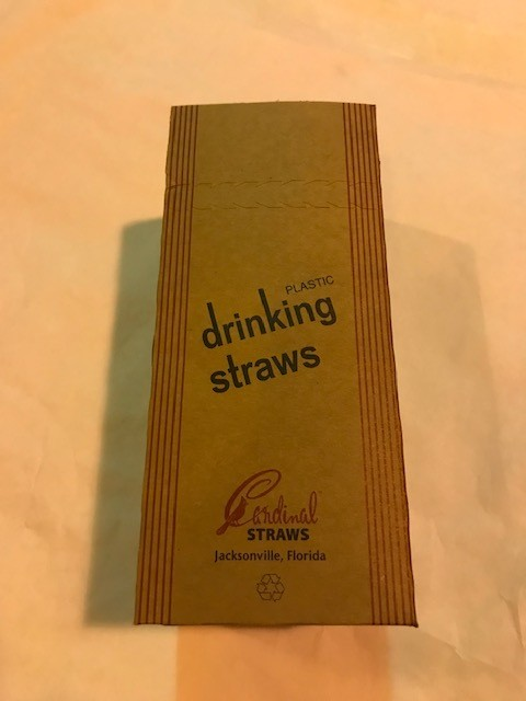 Straws, Clear, Plastic, Unwrapped, Jumbo