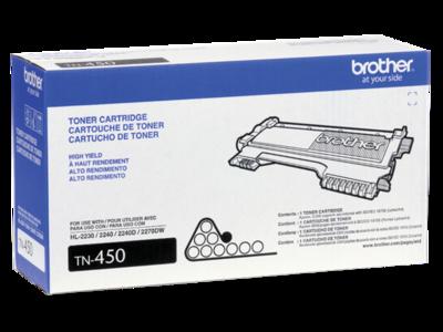 Cartridge, Toner, Brothers #TN-450 Hi-Yield-item #695769
