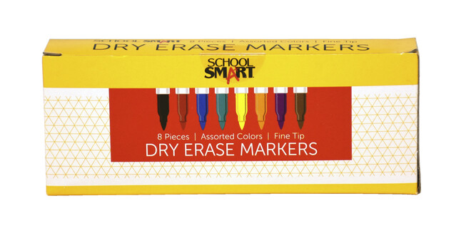 Markers, Dry Erase 8PK-DONATED