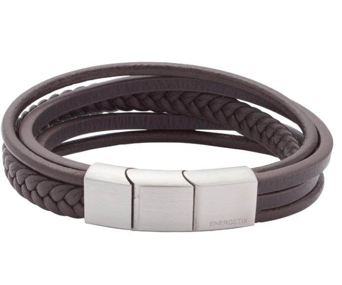 Energetix-Herren-Armband (Leder)