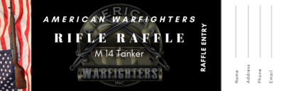 American Warfighter Raffle Ticket