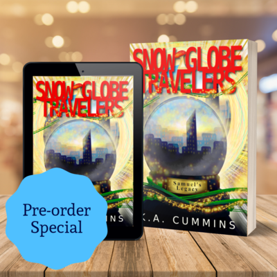 Snow Globe Travelers Signed Paperback Bundle (limited availability)