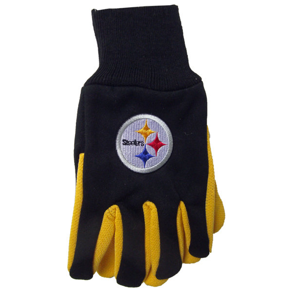 STEELERS Sports Glove - 12 Piece Pack