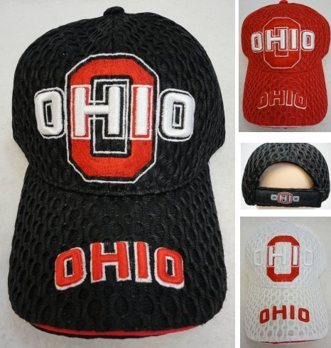 Ohio Air Mesh Hat-12 piece pack
