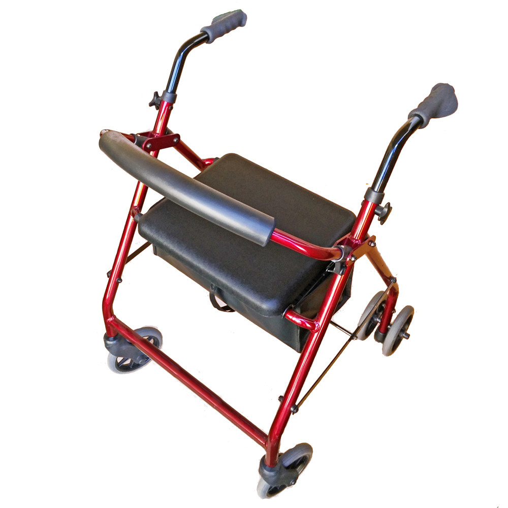 "Ellipse 6"" Push Down Wheeled Walker"