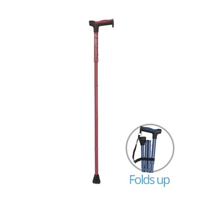 Airgo® Comfort-Plus Folding Cane, Derby Handle