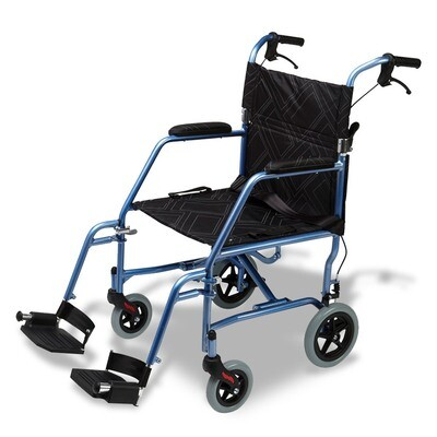 Omega LA1 Lightweight Foldable Wheelchair