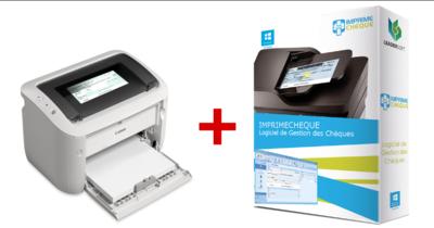 Bundle : Imprimante chèque+ Logiciel ImprimeChèque ( Licence à vie )
