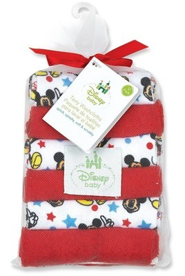 Disney Brand Minnie Mouse washcloth set