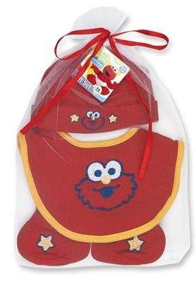 4 piece Sasame Street Elmo gift set