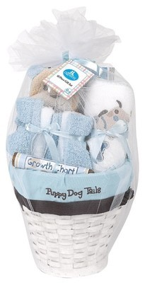 Puppy Dog Tails Baby Gift basket
