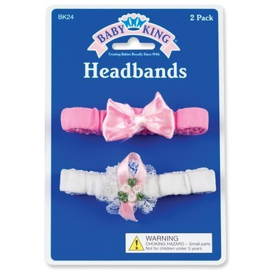 Set of 2 Baby Headbands
