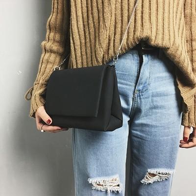 Women's Fashion Frosted Style Hasp Handbag Crossbody Shoulder Bags BK