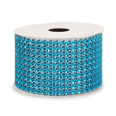 Mesh Fabric: Blue, 2 inches x 3 yards