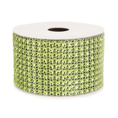 Mesh Fabric: Green, 2 inches x 3 yards