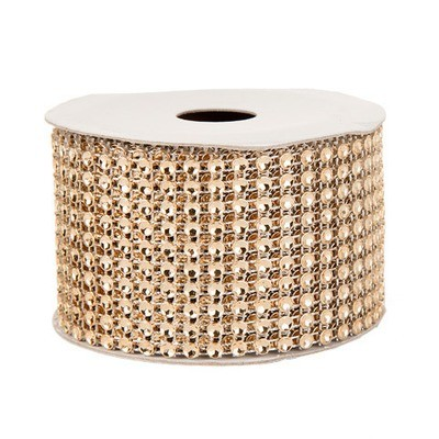Mesh Fabric: Gold, 2 inches x 3 yards