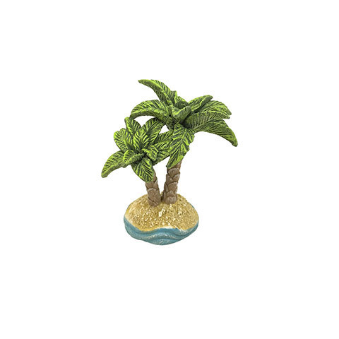 Mini Fairy Garden Palm Trees Figurine: 3 inches