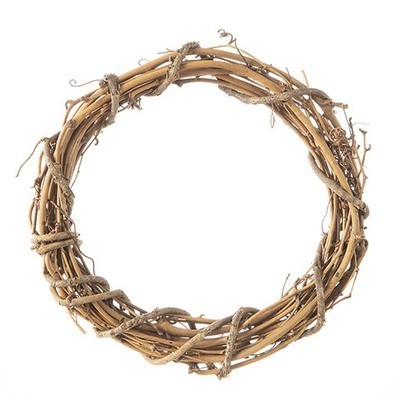 Grapevine Wreath - Natural - 8 inches  ( sold in 3 pack)