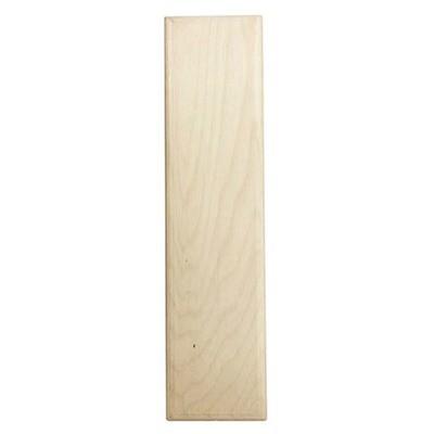 12 inch Bold Unfinished Wood Letter I