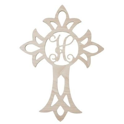 Cross Wood Monogram