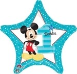 18 inch Disney Mickey 1st Birthday Boy, Price Per EACH
