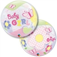 22 inch Baby GIRL Butterfly BUBBLES