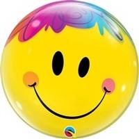 22 inch BUBBLES Bright Smile Face