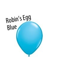 16 inch Qualatex ROBIN'S EGG BLUE, Price Per Bag of  25