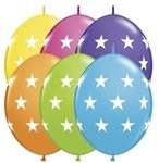 12 inch Big STARS Tropical Assortment Quick Links, Price Per Bag of 25