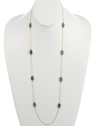 Becky Necklace Blue