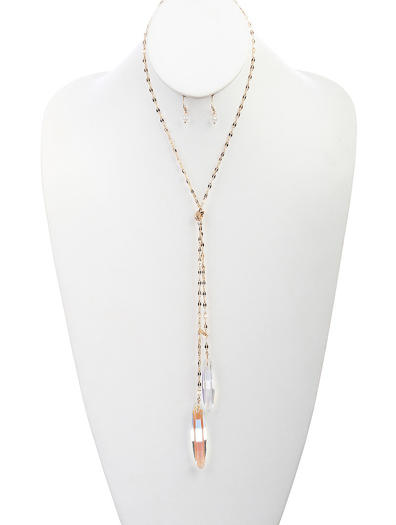 Camille Necklace Clear