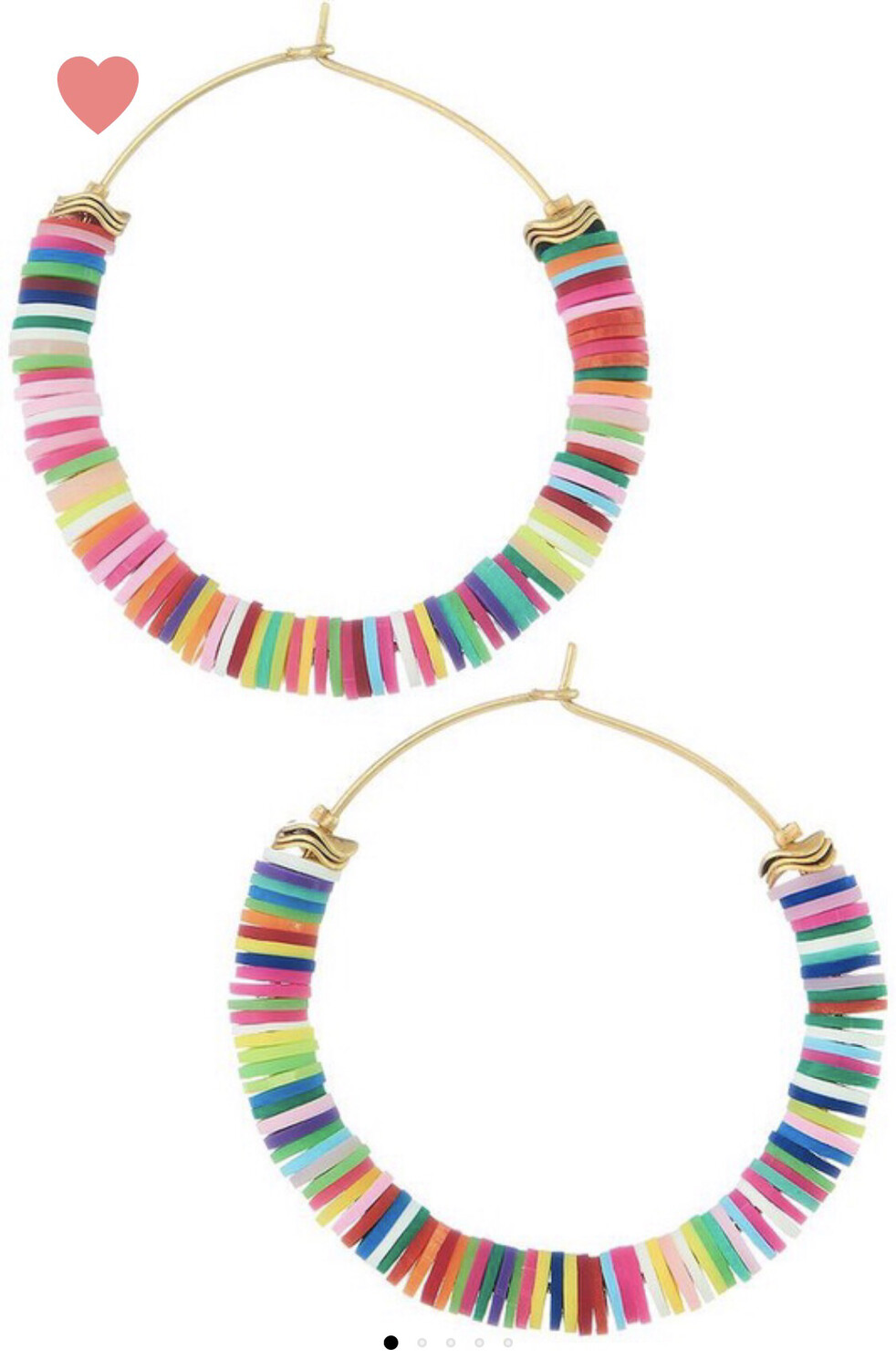 Rainbow Bright Hoops