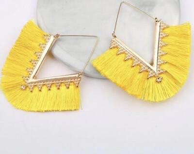 Sunshine Fringe Earrings