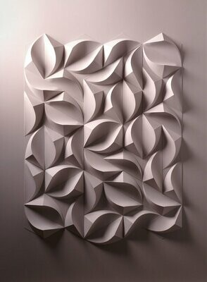 Geometric Paper Sculpture 03 (Title unspecified)