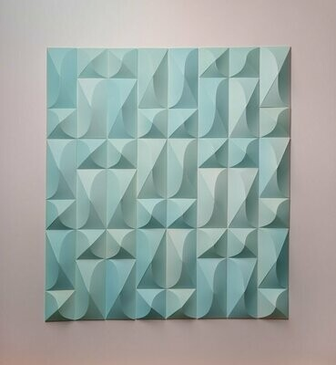 Geometric Paper Sculpture 06 (Title unspecified)