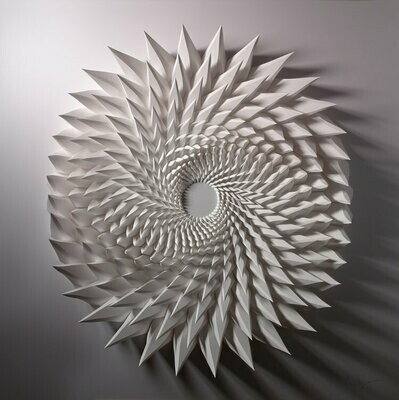 Geometric Paper Sculpture 09 (Title unspecified)