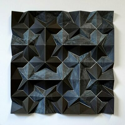 Geometric Paper Sculpture 15 (Title unspecified)