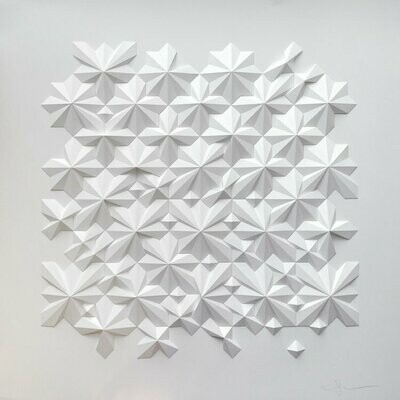 Geometric Paper Sculpture 17 (Title unspecified)
