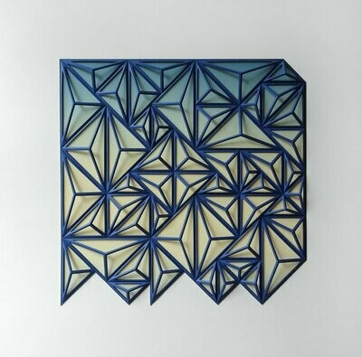 Geometric Paper Sculpture 19 (Title unspecified)
