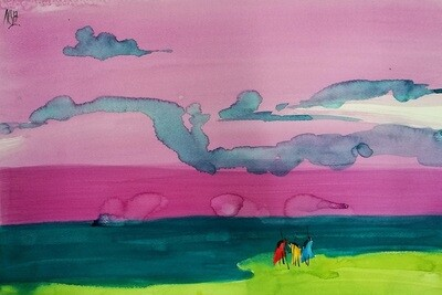 Watercolor on paper 10 (Title unspecified)