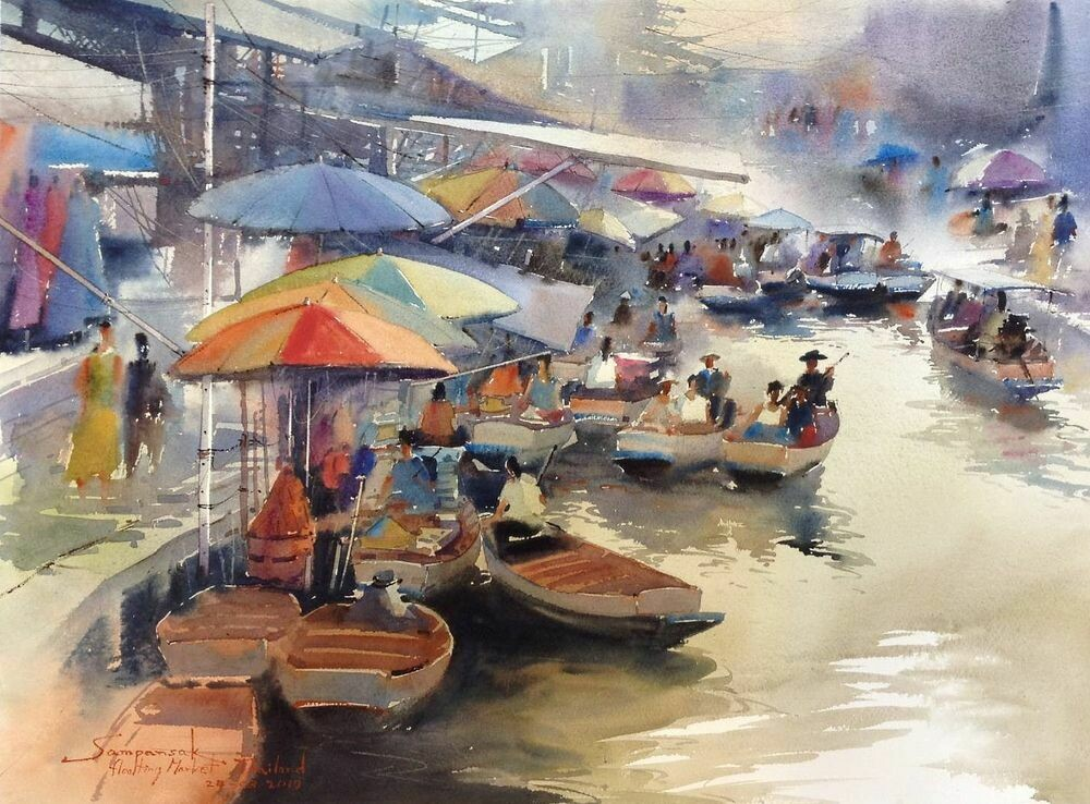 FLOATING MARKET 4