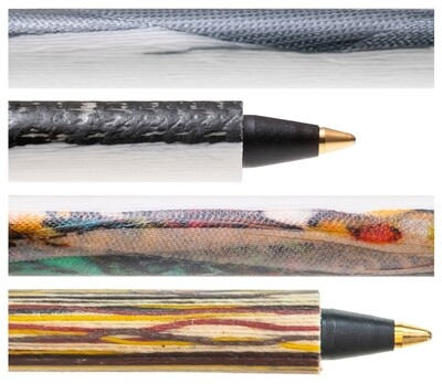 Easy-Going Pen aus recycelten Textilien