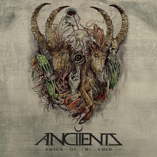 ANCIIENTS - VOICE OF THE VOID; 2LP - PLATA- (250 copias en el mundo)
