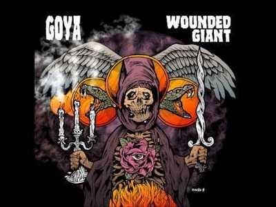 Goya - Wounded Giant (Púrpura)
