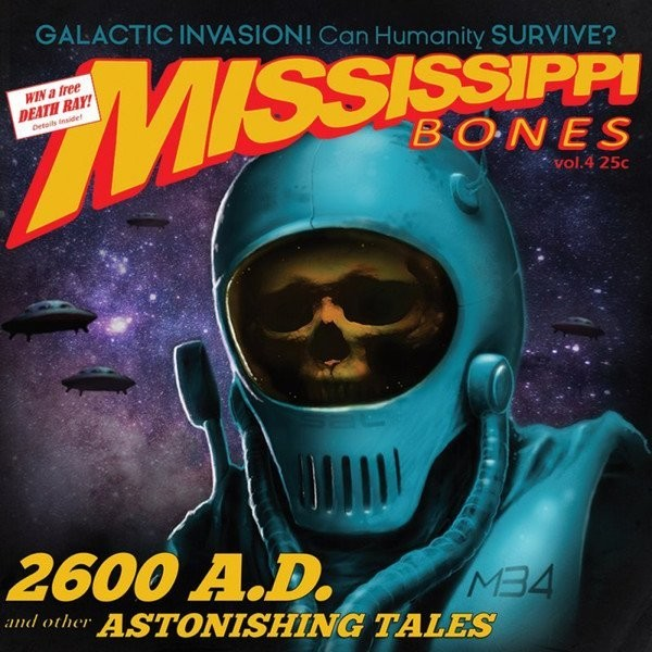Mississippi Bones - 2600 Ad: And Other Astonishing Tales (Yellow/Red/White Marbled)