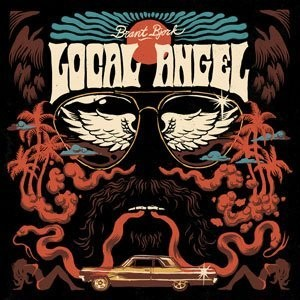 BRANT BJORK / LOCAL ANGEL ORANGE/BLUE (LTD BLACK COVER)